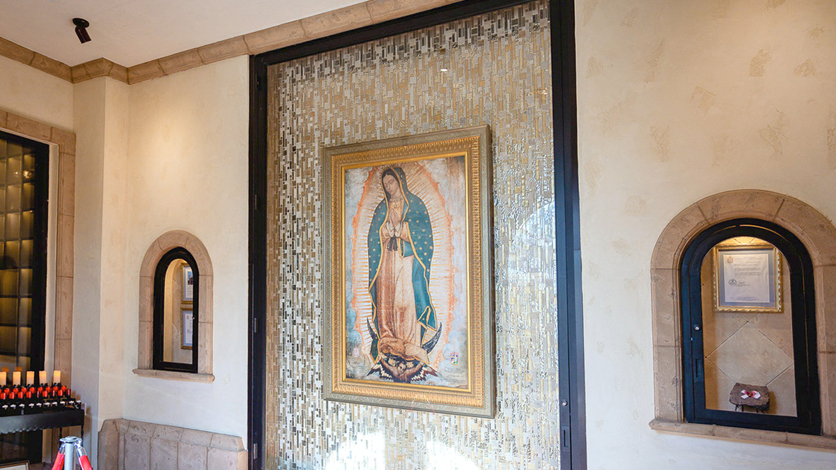 Our Lady of Guadalupe Mausoleum Feature